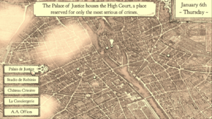 City Map Screen