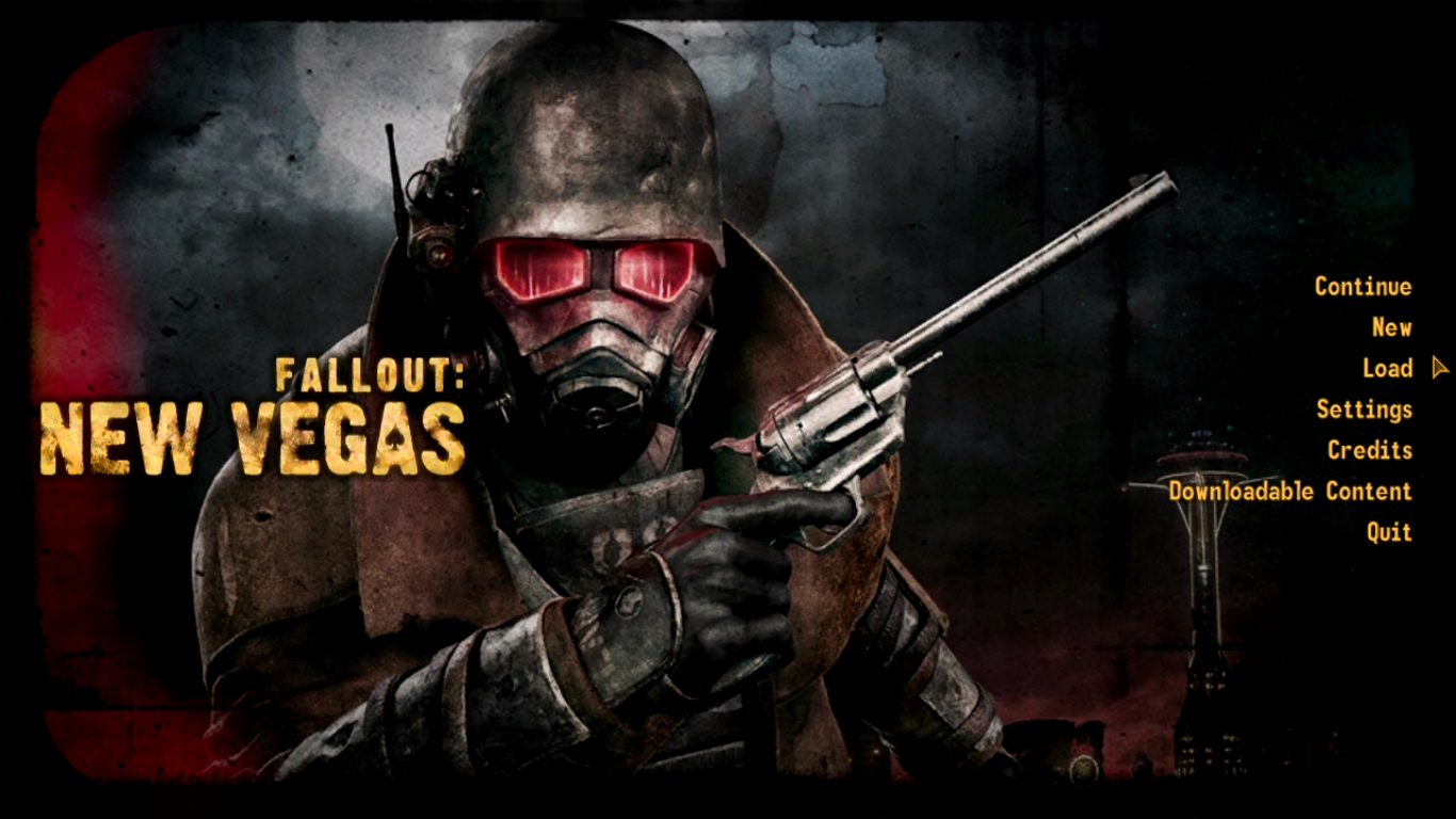 Fallout: New Vegas Title Screen