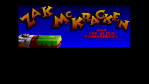 Zak McKracken and The Alien Mindbenders Title Screen
