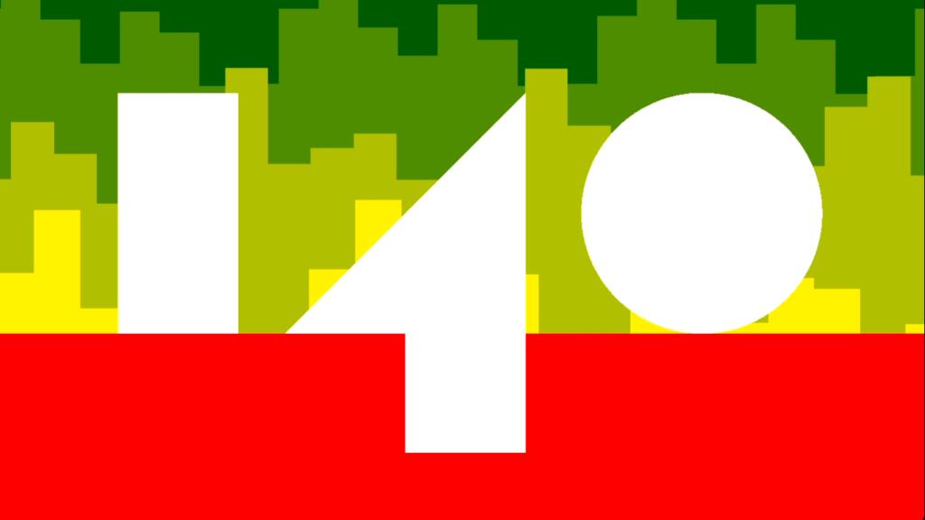 140 Title Screen
