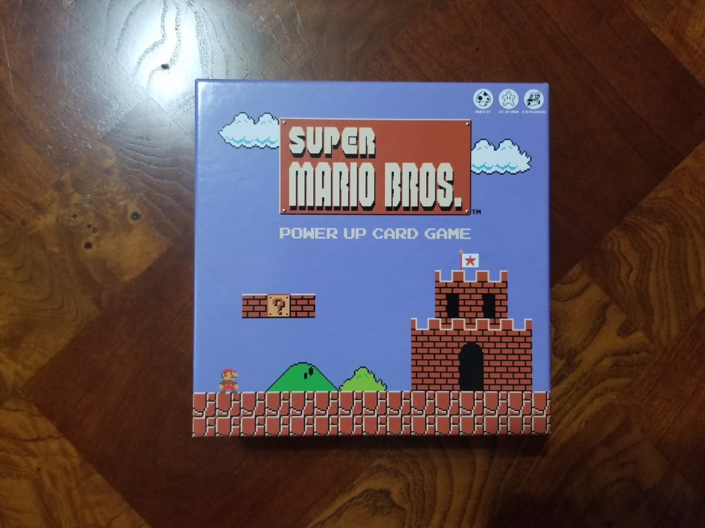 Super Mario Bros. Power Up Card Game Box