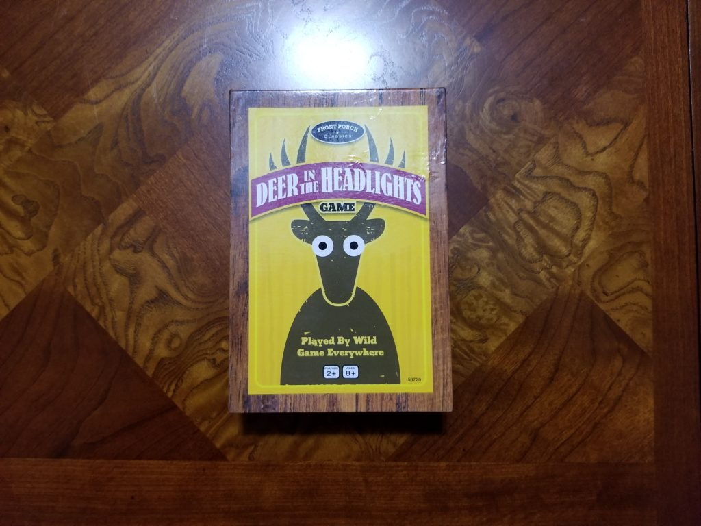 Deer in the Headlights Game Box.
