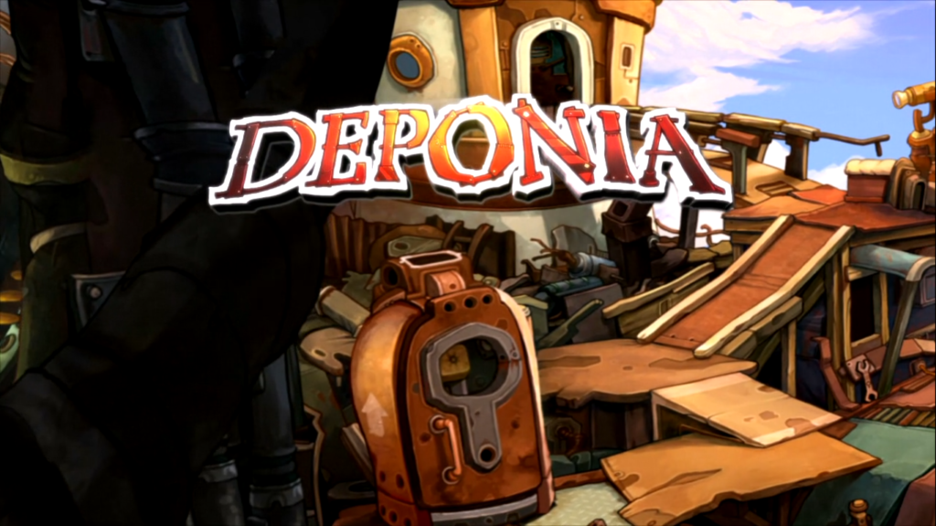 Deponia Title Screen