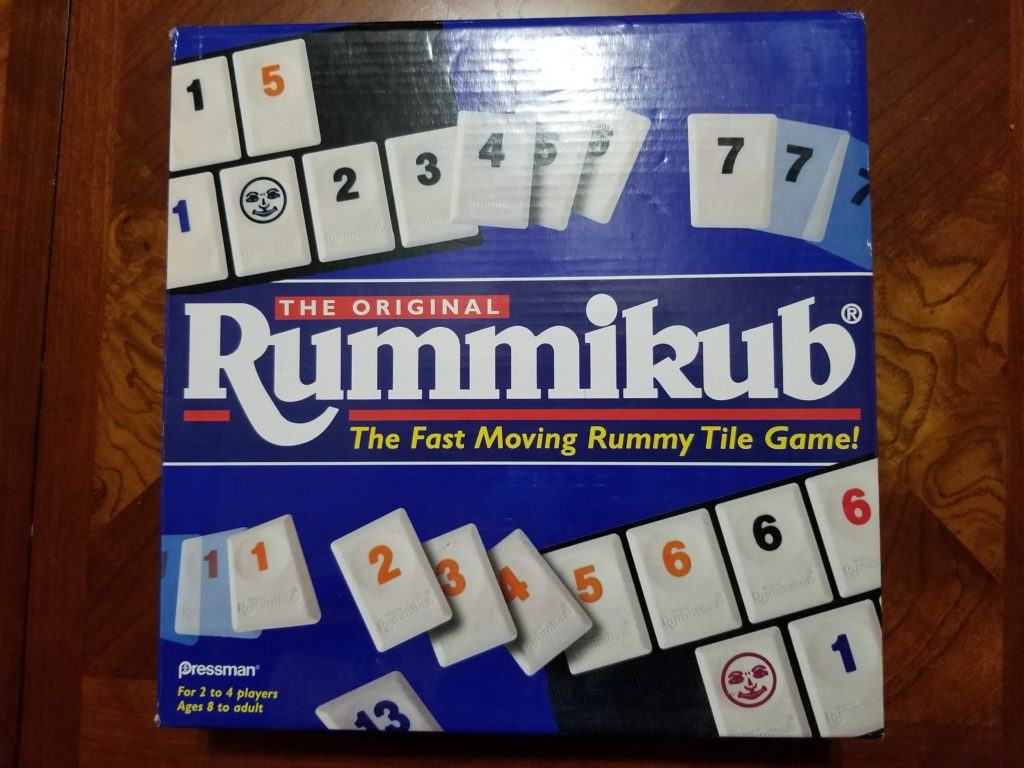 Rummikub Game Box